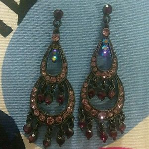 Accessories - 🎉Beautiful Crystal Earrings (Post back)